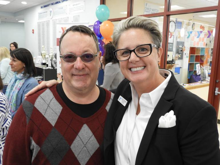 James Scavone, Red Bank RiverCenter Executive Director and Laurie Goganzer, President and CEO of the YMCA of Greater Monmouth County.jpg