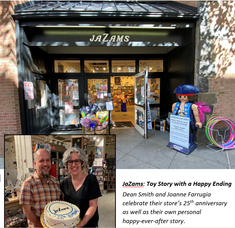 JaZams Celebrates Its 25th Anniversary -- As Well As Its Own Happy Ever After Story