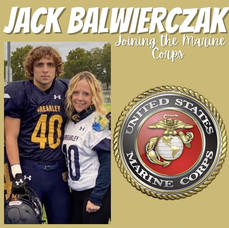 David Brearley Class of 2021's Jack Balwierczak is Headed to the US Marines Corps