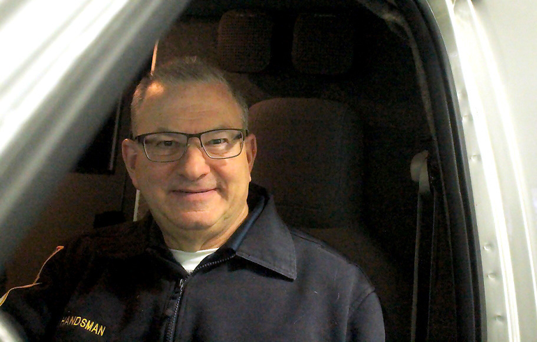 Jerry Handsman joined the Scotch Plains Rescue Squad in 1992