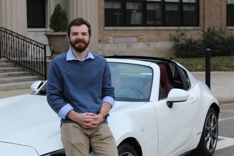 Madison Teacher Receives Car for Charity Masks