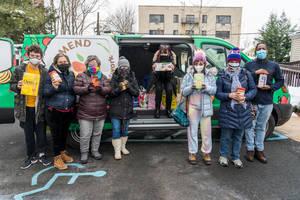 The MEND 'Sweet Pea' Van Visits JESPY