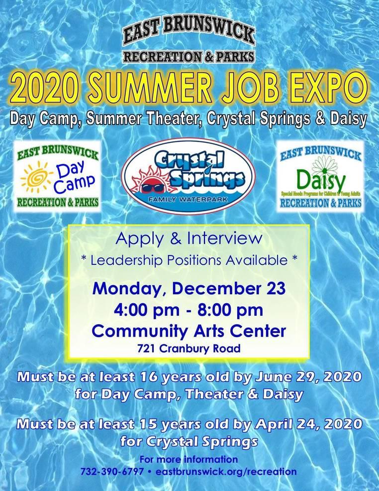 Job Expo Flyer 2020