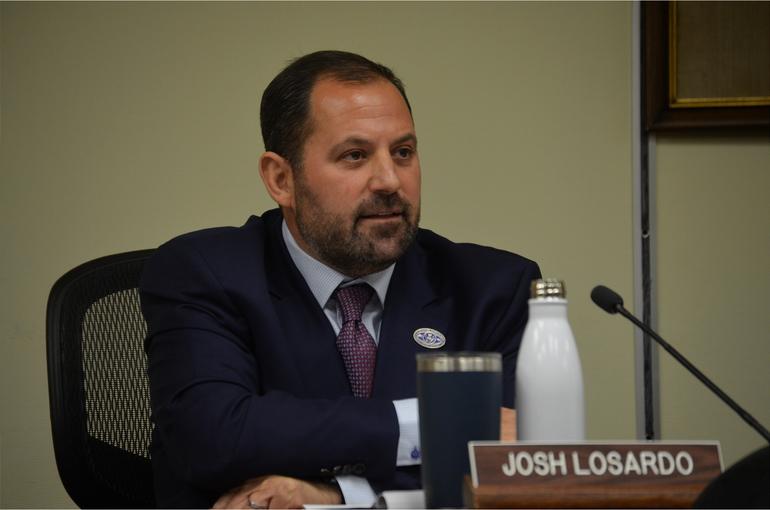 Scotch Plains Deputy Mayor Josh Losardo
