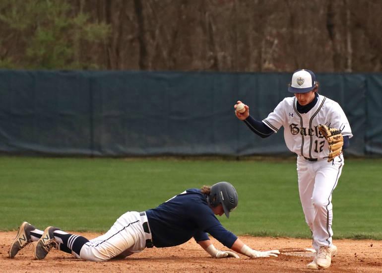Roxbury Baseball Wins Season Opener with Walk-Off HR