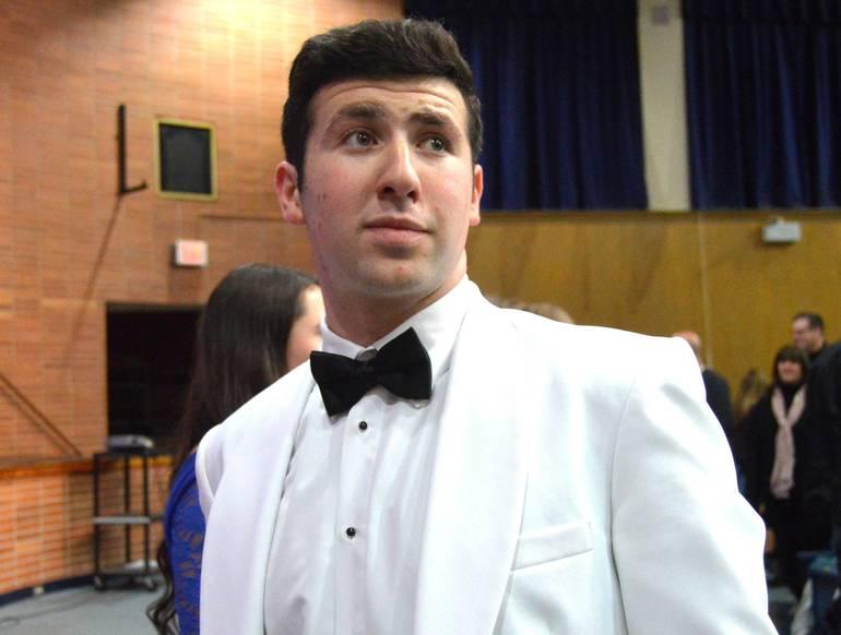"Josh Axelrod was Scotch Plains-Fanwood HS's ""Mr. Spiffy High"" winner in 2016"