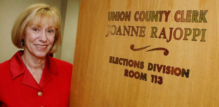 Union County Clerk Joanne Rajoppi