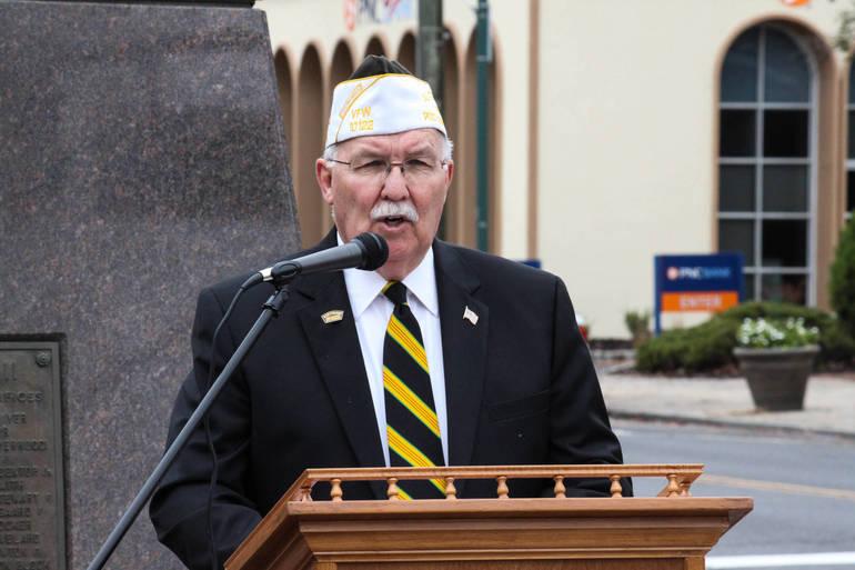 Joe McCourt - Veterans Day in Scotch Plains