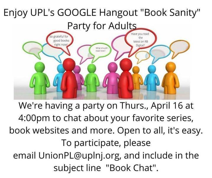 UPL Virtual Book Chat