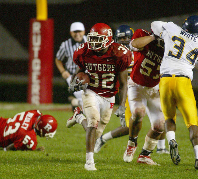 Former Scotch Plains-Fanwood High School star Nate Jones played at Rutgers.