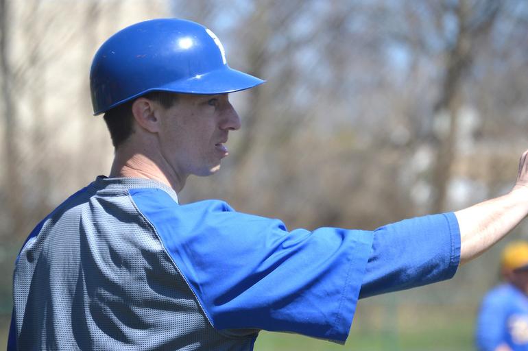 Scotch Plains-Fanwood varsity baseball coach Joe Higgins