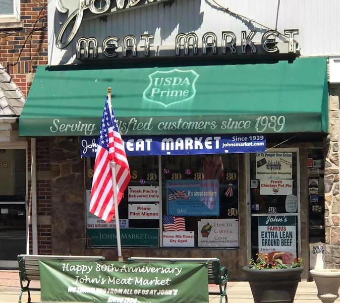 John's Meat Market on Park Ave. in downtown Scotch Plains