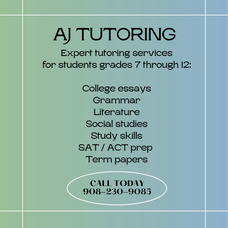 College Essay and Other Educational Services