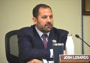 Scotch Plains Mayor Josh Losardo