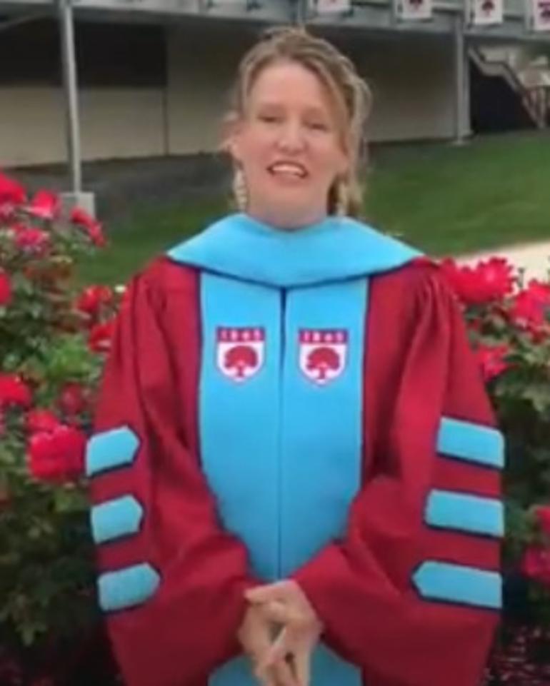 Dr. Kari McGann, superintendent