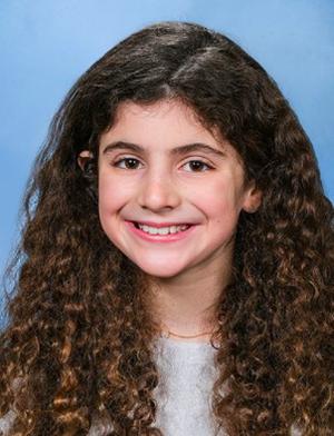 Julia Pappalardo, a 5th grader atTerrill Middle School in Scotch Plains