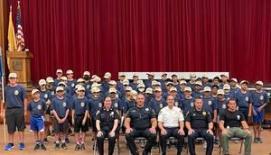 Livingston Police Department Presents Graduates of 2021 Junior Police Academy
