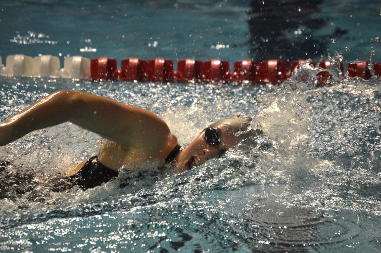Scotch Plains-Fanwood girls swimming's Julia Bonhote.