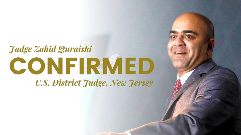 U.S. District Court Judge Zahid Quraishi grew up in Fanwood and was a 1993 graduate of Scotch Plains-Fanwood High School.