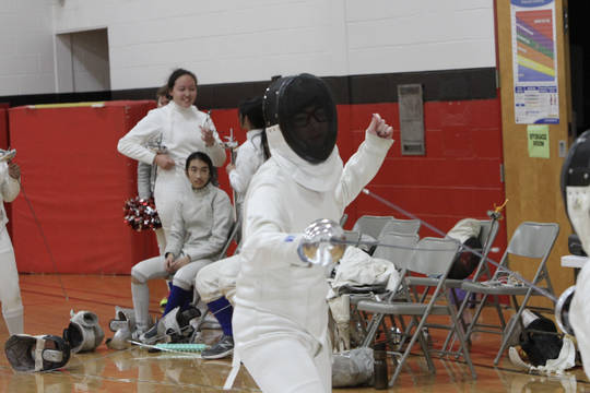 Top story 58fcd93fa288399b93a1 junior epee holly coviello going for the win on her birthday at west essex