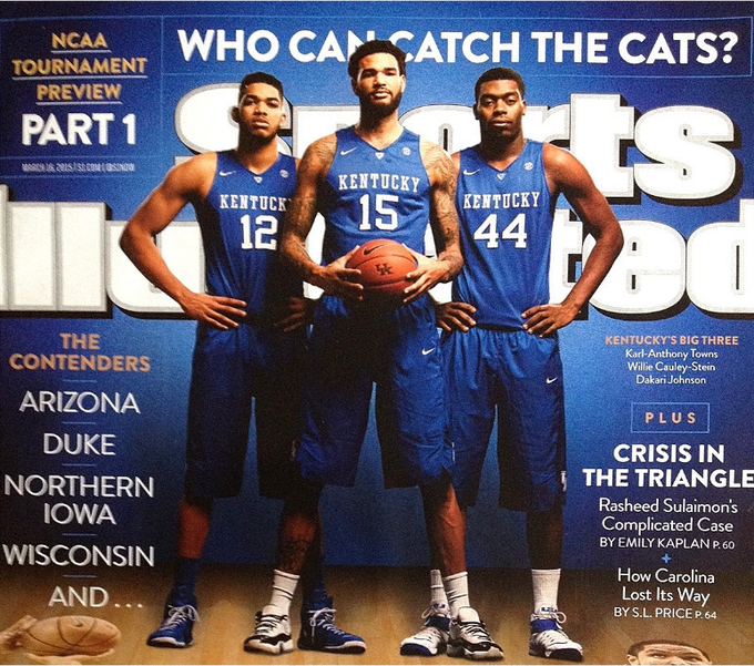 Karl Towns on the cover of SI.png