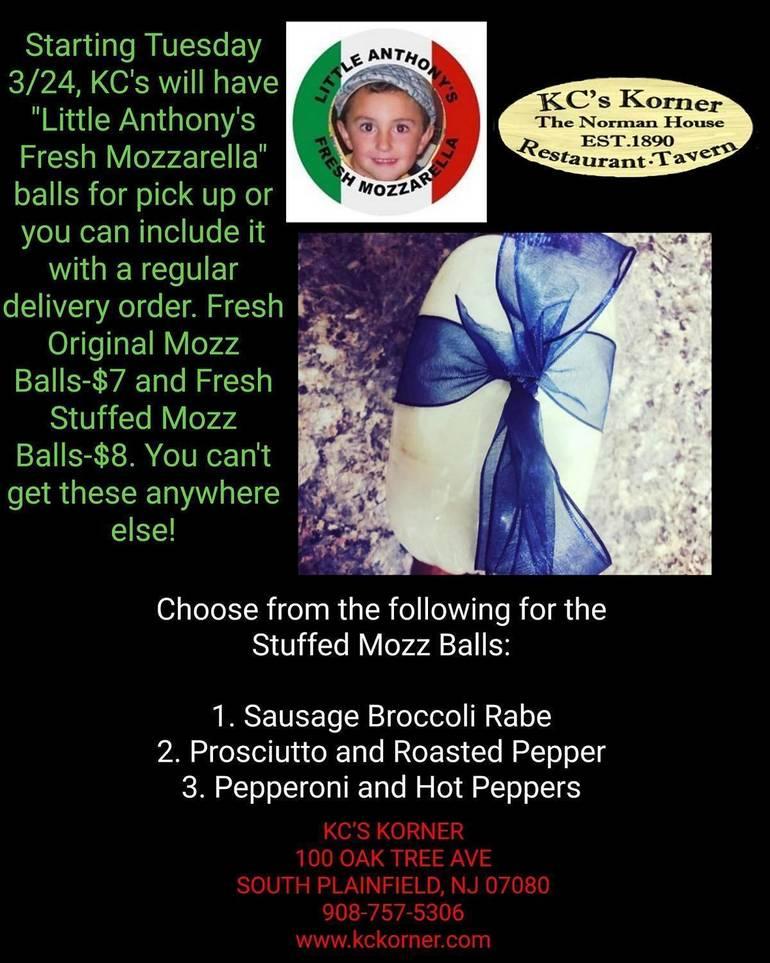 KC's Little Anthony's Fresh Mozz