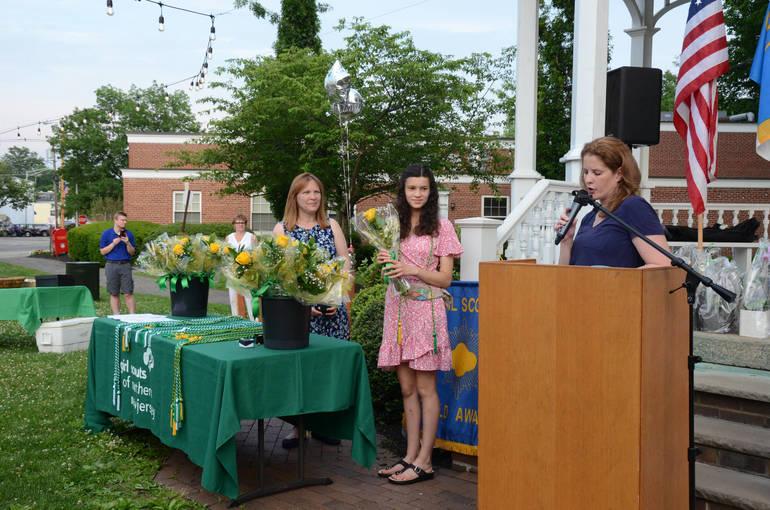 Chatham Girl Scout Gold Award Ceremony and Senior Celebration