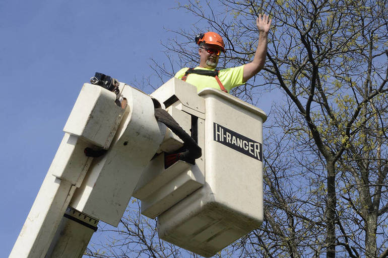 Fanwood DPW's Ken Blom died suddenly during the weekend.