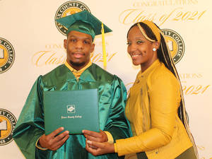 An Essex County College Graduation Inspirational Success Story- Khalid Branch is Flying High to Reach His Goal
