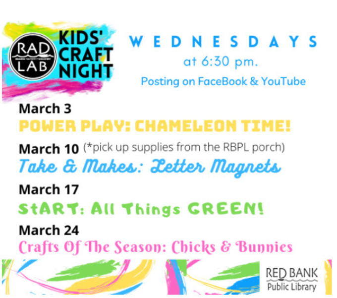 Weekly Update - Red Bank Public Library