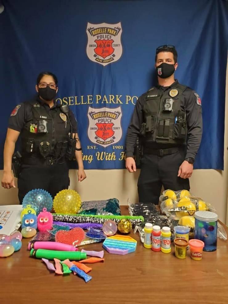 Roselle Park Police Department Deploys Sensory Communication Kits