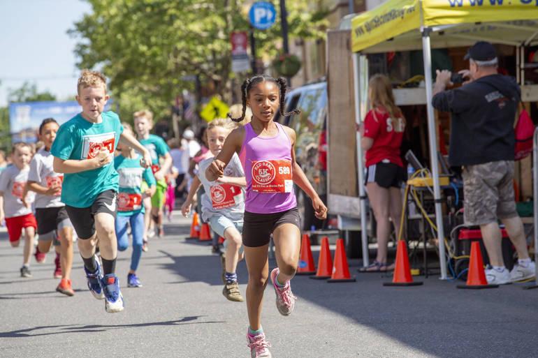 Kids Broad Street Dash Returns