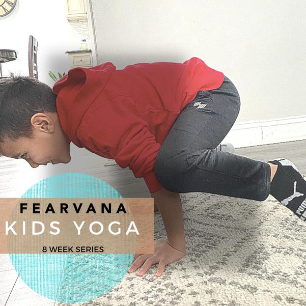 Fearvana Yoga Kenilworth Presents Kids Yoga Series