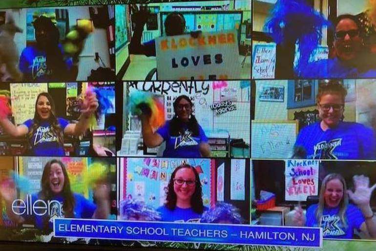 Hamilton's Klockner Elementary School Featured on The Ellen Show