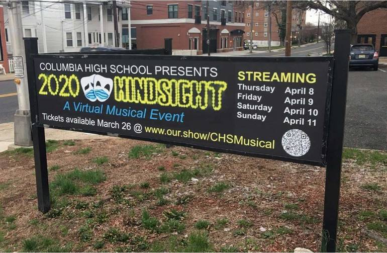 """Columbia High School Presents """"2020 Hindsight"""" - CHS to debut All-School Musical Virtual Streaming Event in April"""