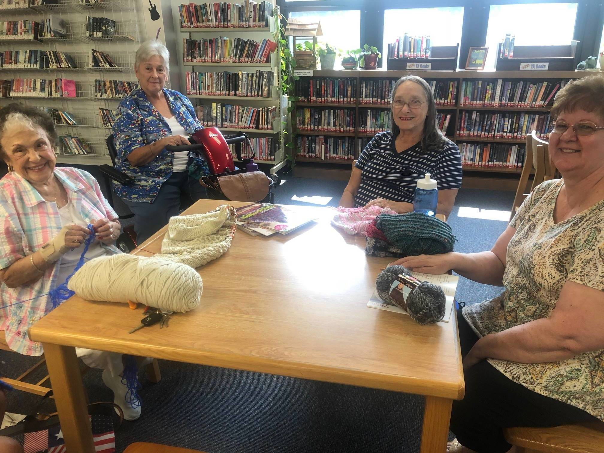 Clara Barton Library Offers Popular Knitting Program