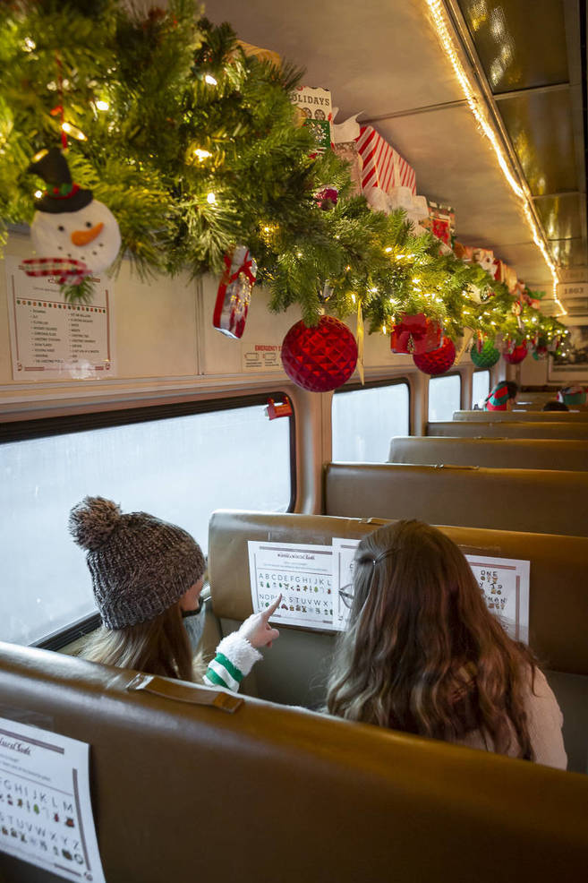 Kringle Railway Adventure Holiday Train Ride