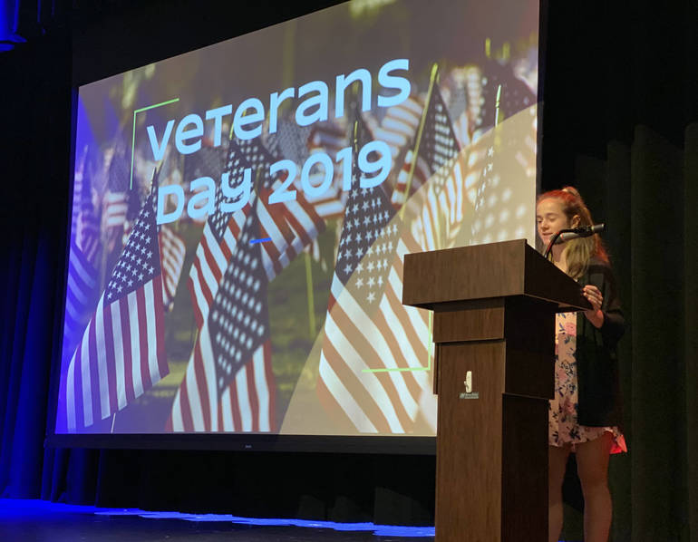 Kylie Haughey at Veterans Day Assembly.jpg
