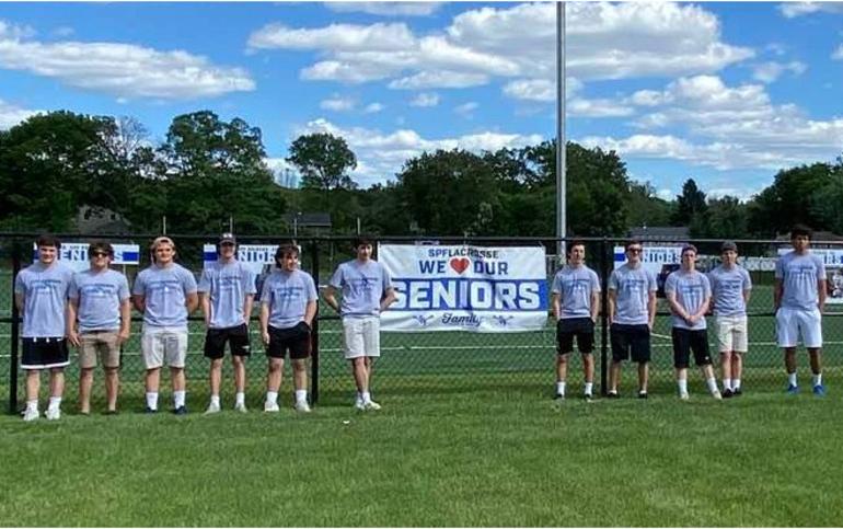 Scotch Plains-Fanwood boys lacrosse seniors 2020