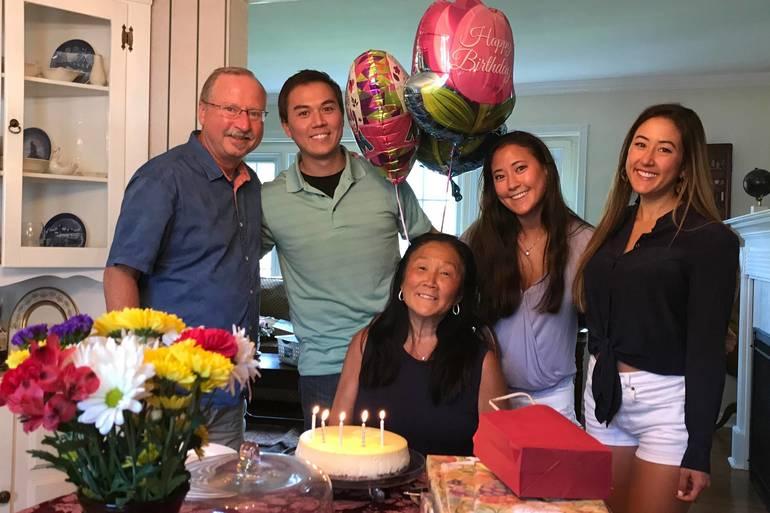 Lance Tkacs and family celebrate a birthday.jpg