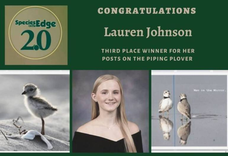 Sparta High School Student Earns Third Place in Statewide Social Media Contest Protecting New Jersey's Rare Wildlife