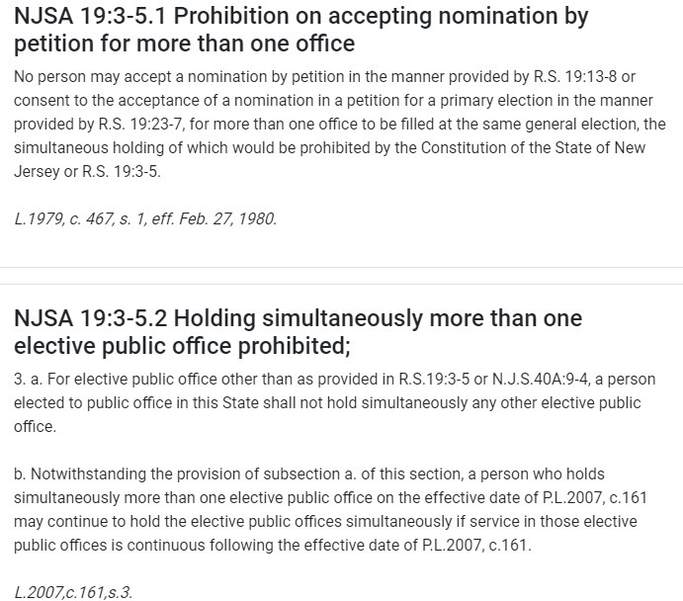 Laws on elections