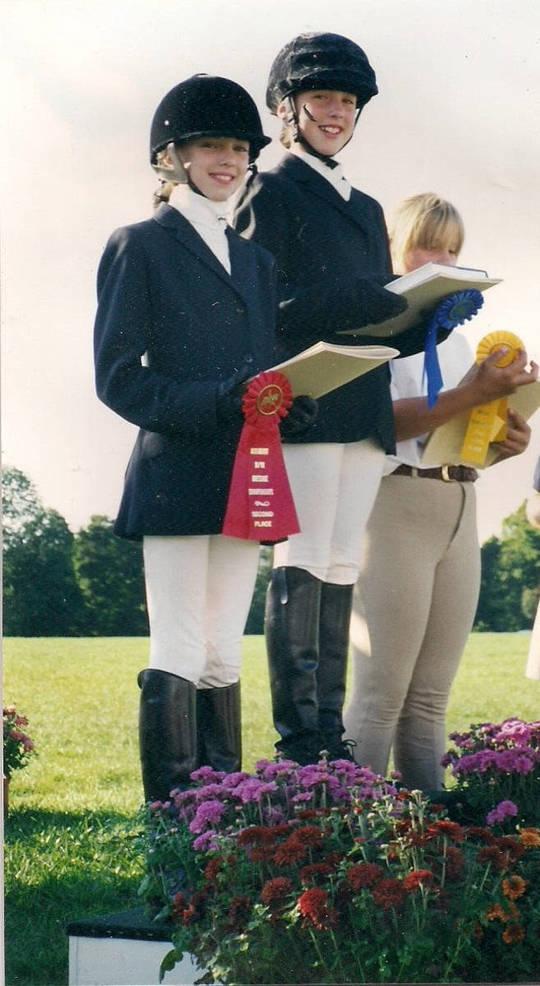 Laura Graves podium 1999.JPG
