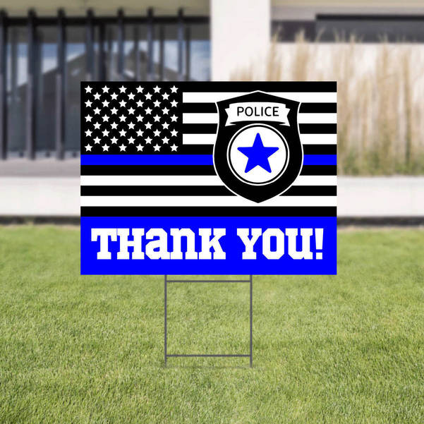 Thank You Police Department