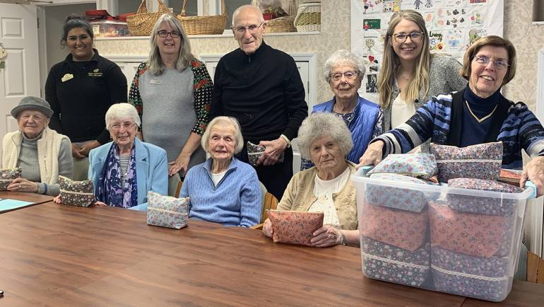 residents giving back