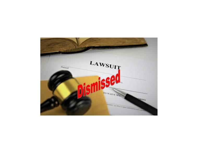 lawsuit dismissed