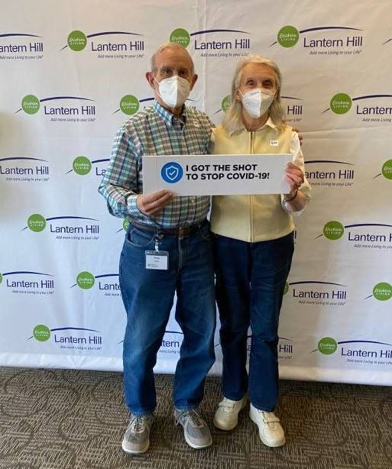 Lantern Hill Vaccinates 97% of Residents Against COVID-19