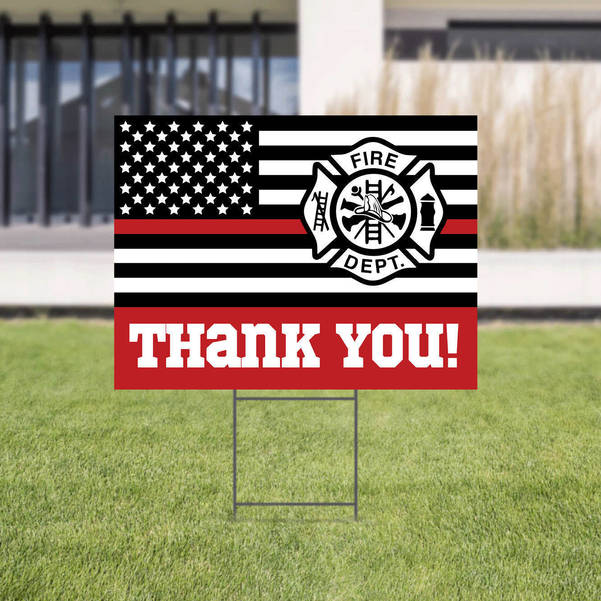 Thank You Fire Department