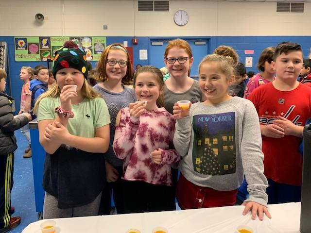 Lafayette School Students squash soup tasting.jpeg
