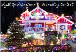 Judging for 'Light Up Lake Como' Holiday Decorating Contest Tonight